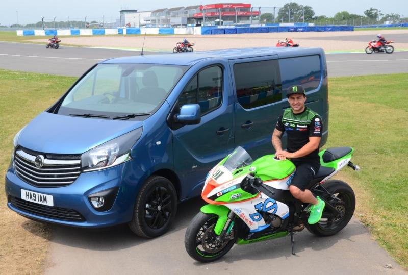 superbike racer Leon Haslam