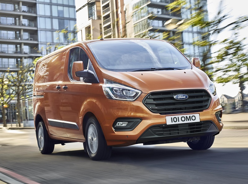 New-look Ford Transit Custom