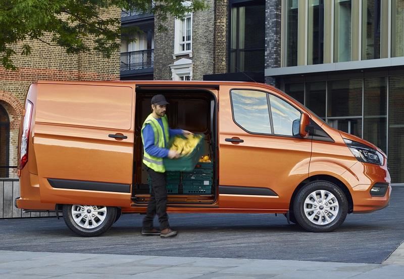 New-look Ford Transit Custom