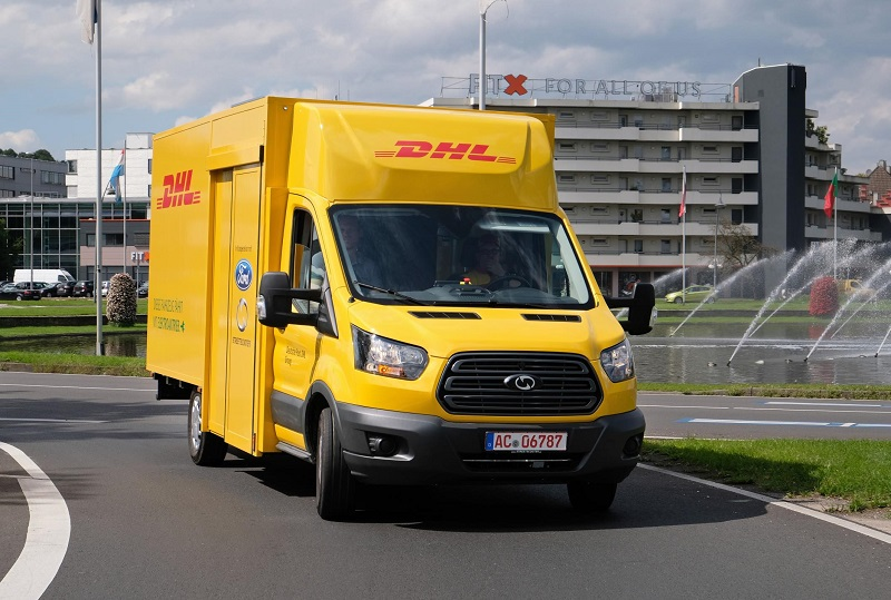 Ford DHL streetscooter 4041