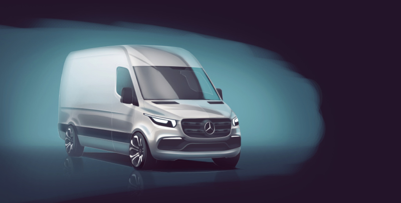 First details of new Mercedes-Benz Sprinter revealed ahead of 2018 launch