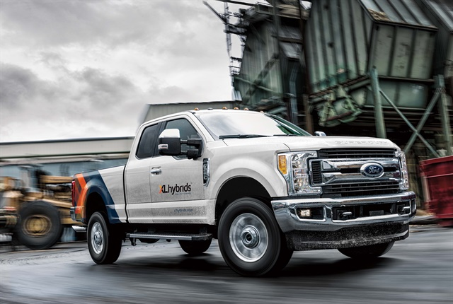 Ford F-250 with XL Hybrids technology