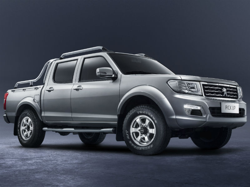Peugeot pick-up for Africa