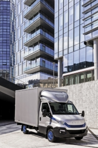 IVECO Daily Blue Power offers sustainable city centre access