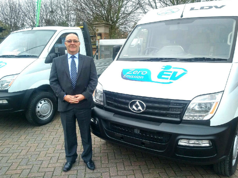 Bill Laidlaw, LDV dealer development manager
