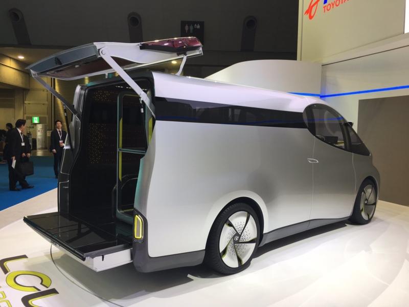 toyota lcv d cargo concept van revealed business vans. Black Bedroom Furniture Sets. Home Design Ideas