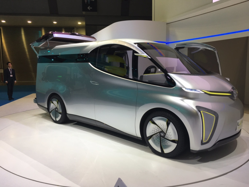 Toyota Lcv D Cargo Concept Van Revealed Business Vans