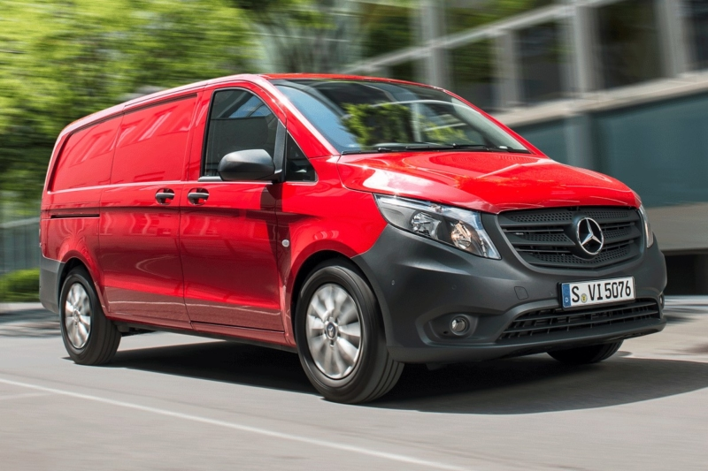 Mercedes-Benz Vito is Glass's Used Van Hero for October