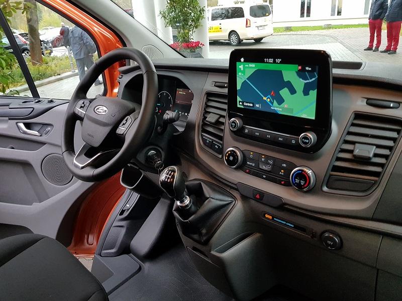 Ford Transit Custom 2018 Review Business Vans