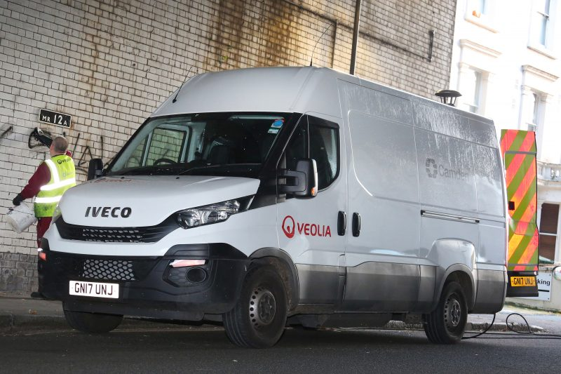 Iveco Daily CNG-fuelled vans