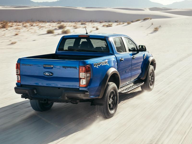 Ford Raptor action