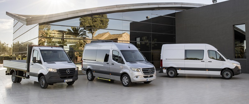 third generation Mercedes Sprinter