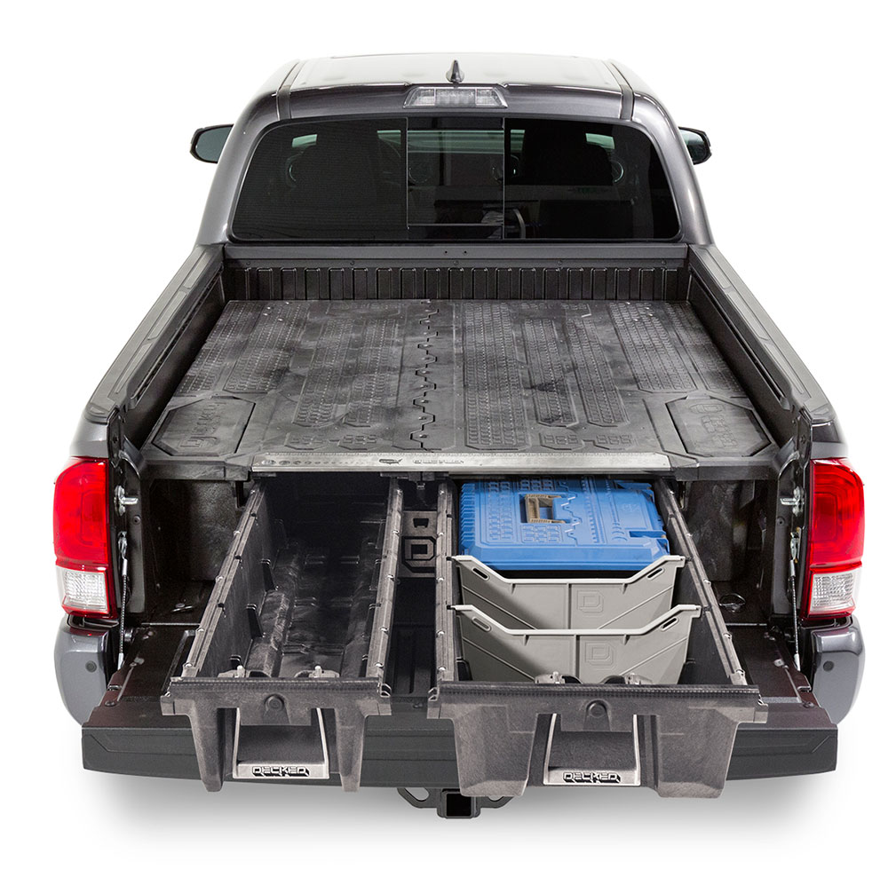 Truckman's new Decked drawer for pick-ups