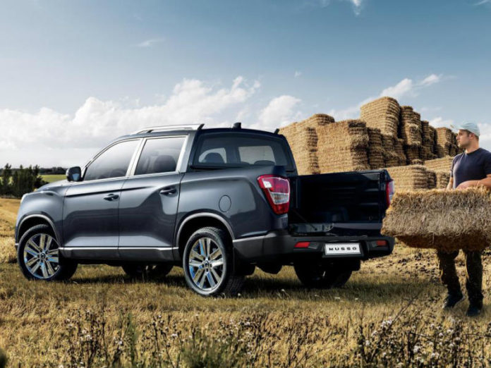 The new SsangYong Musso will be at the CV Show