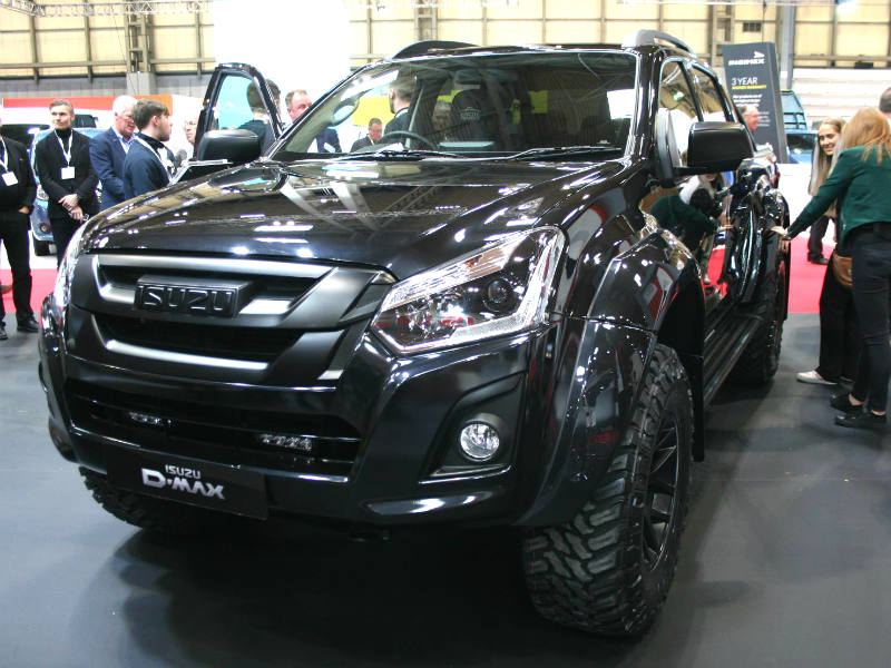 isuzu d max arctic trucks stealth business vans. Black Bedroom Furniture Sets. Home Design Ideas