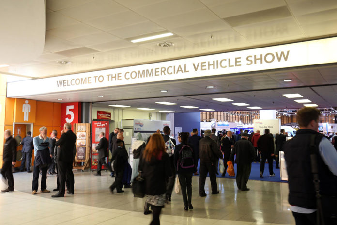 Entrance to the CV Show at NEC