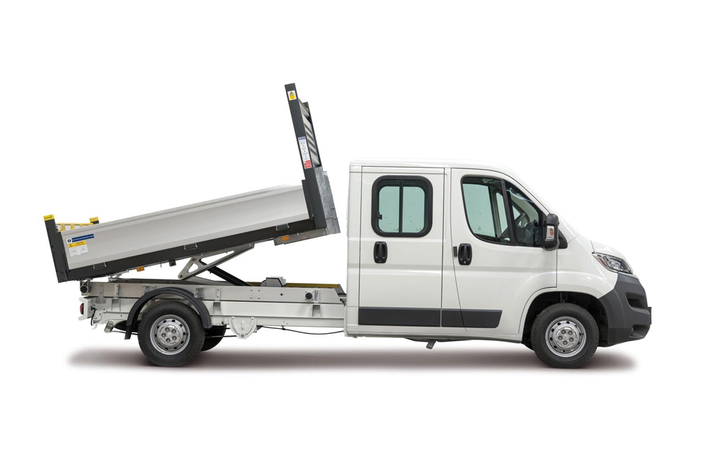 Citroen Relay Ready to Run Crew Cab Tipper