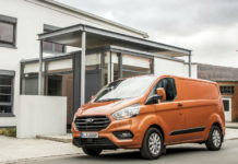 New Ford Transit Custom 2017