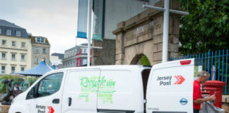 Jersey Post Nissan e-NV200 electric van