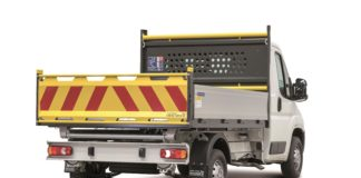 Peugeot Built for Business range being launched at CV Show includes this Boxer Tipper