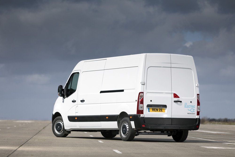 The Renault Master ZE