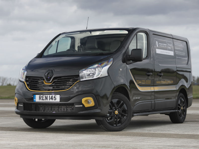 Renault Pro+ Commercial Vehicles offers manufacturer supplied sign writing