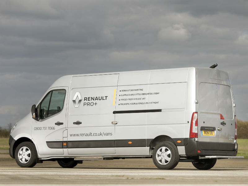 renault van sign writing service