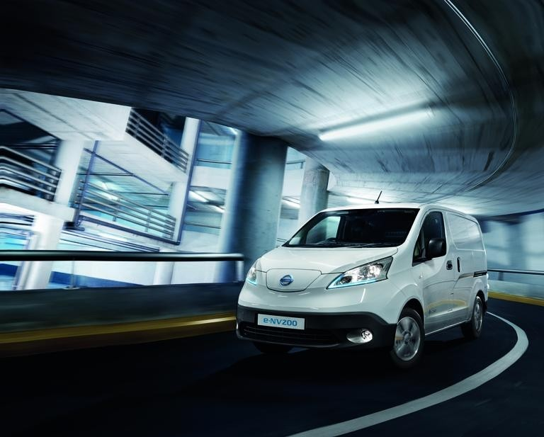 Nissan will have its extended range e-NV200