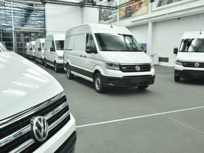 New Volkswagen eCrafter