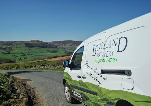 Bowland Brewery Electric Van