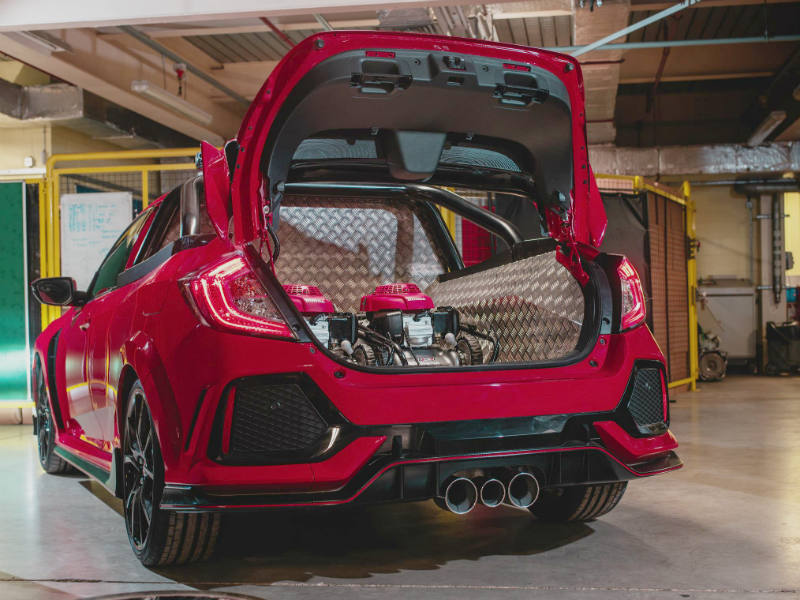 Civic Type R Pickup Truck concept rear deck