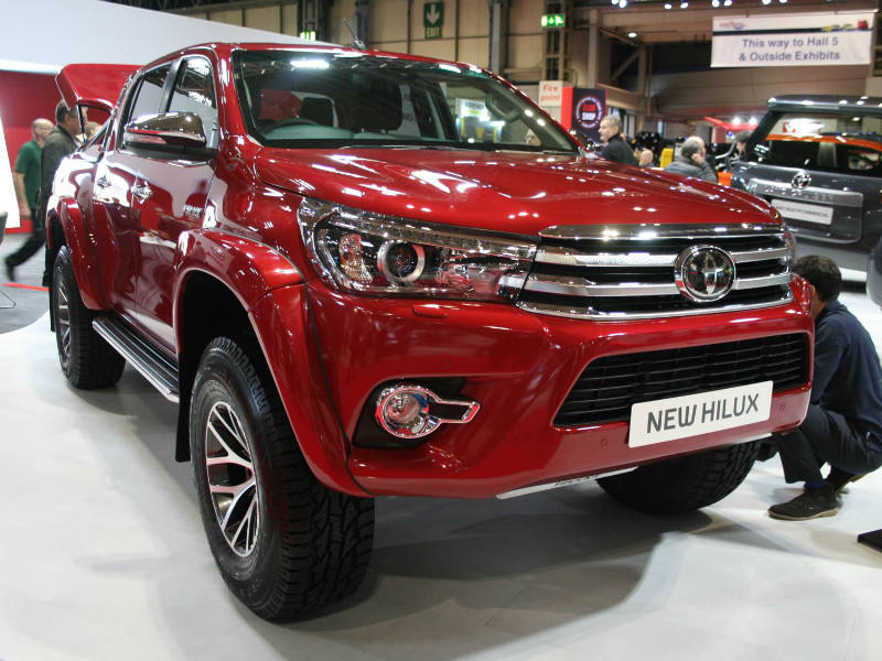 Toyota Hilux Arctic Truck AT 35