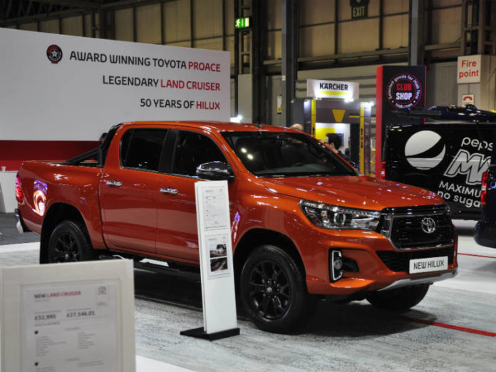Toyota Invincible X at CV Show