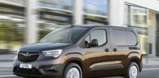 All-new Vauxhall Combo panel van