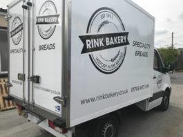 CoolKit converted Mercedes chiller van for Rink Bakery