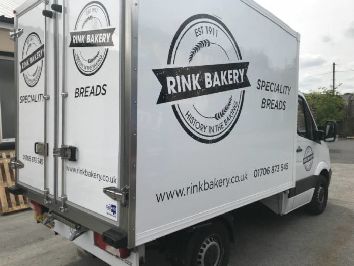 CoolKit converted Mercedes chiller van for Rink Bakery