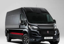 Ducato Sportivo Red on Black
