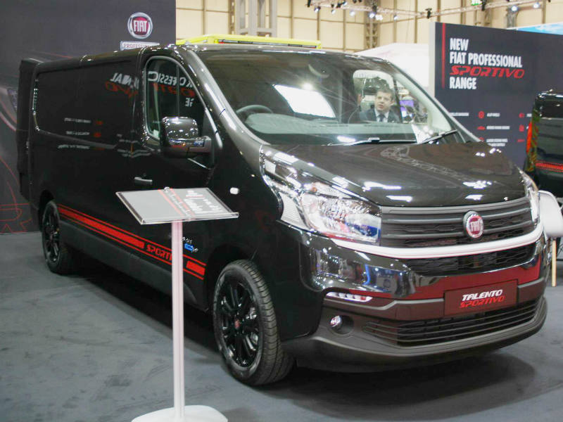 new fiat professional sportivo range business vans. Black Bedroom Furniture Sets. Home Design Ideas