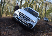 Mercedes X-Class testing off-road