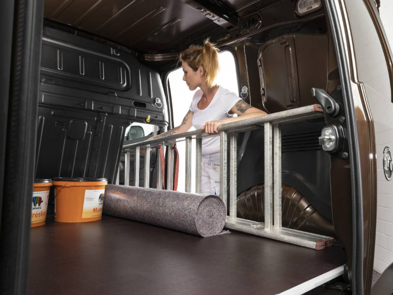 Vauxhall Combo Hatch allows longer items to be loaded