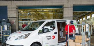 Electric van Jersey Post