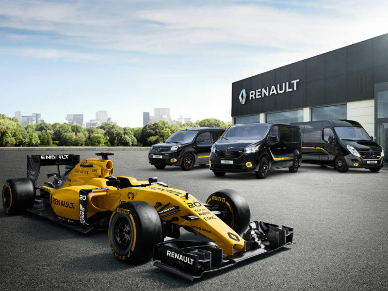 Formula Editions celebrate Renault Pro and Renault Sport Formula One team partnership (1)