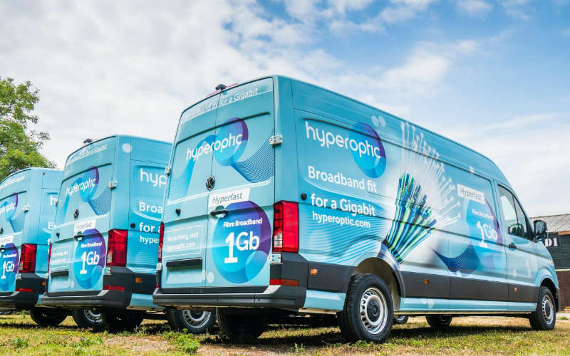 Work Vans Used >> Crafter does the grunt work for Hyperoptic ground work | Business Vans