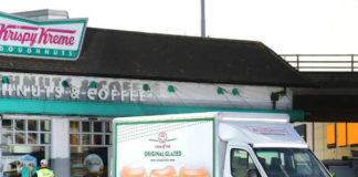 Krispy Kreme Mercedes Sprinter