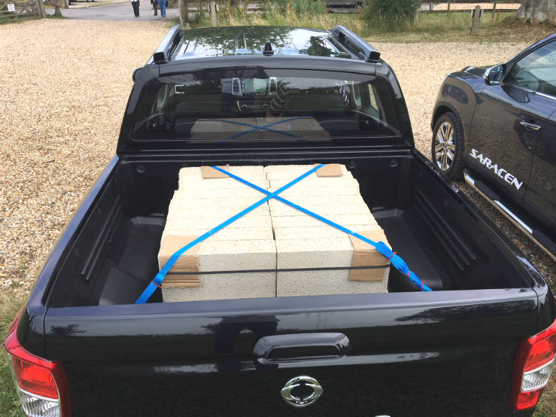 Musso load bed