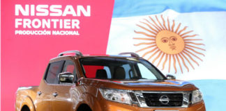 Nissan Frontier pick-up produced in Argentina