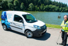 Renault Kangoo helps keep Wessex Water flowing (