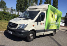 Ocado is trialling a hydrogen-diesel dual fuel Mercedes Sprinter van