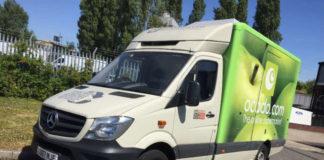 Ocado is trialling a hydrogen-diesel dual fuel Mercedes Sprinter van