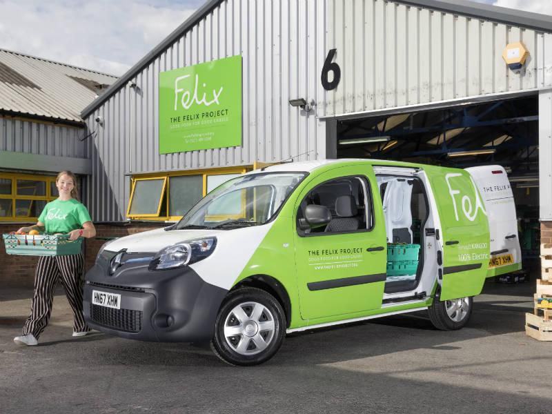 fa9ac2f18d Felix Project charity gets Renault Z.E. vans